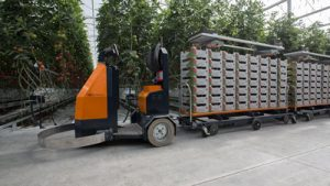 AGV elektrotrekker tuinbouw