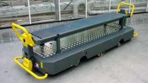 Bogaerts Greenhouse Logistics buisrailwagen