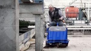 Veegzuigmachines voor tuinbouw en industrie