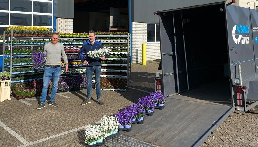 Steun de sierteelt en doe mee met de FlowerBoostChallenge | Steenks Service
